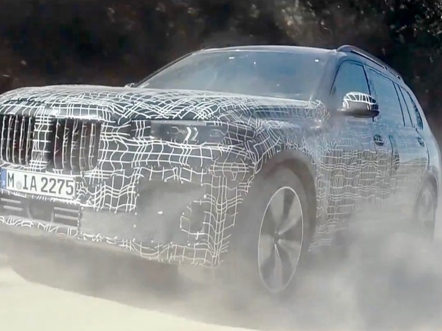 2019 BMW X7 shows off in the most extreme conditions