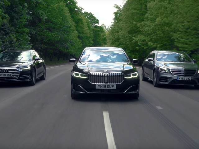 Video: BMW 7 Series LCI vs Audi A8 and Mercedes-Benz S-Class