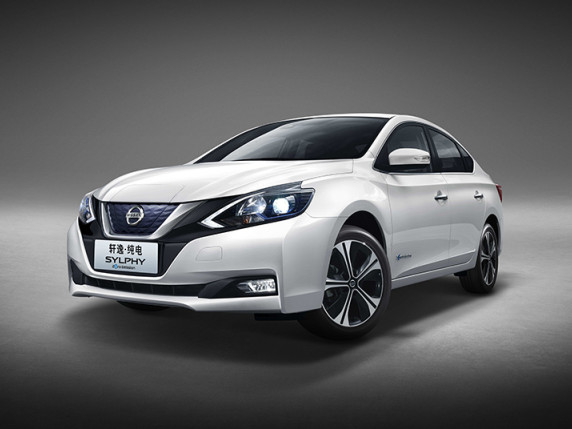 Nissan unveils LEAF-based Sylphy BEV at Auto China 2018