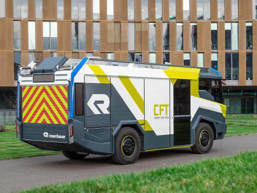 Rosenbauer and Berlin Fire Dept to develop hybrid fire truck; project eLHF