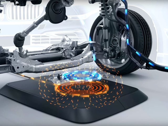 Video: BMW Briefly Explains Wireless Charging for Its Cars