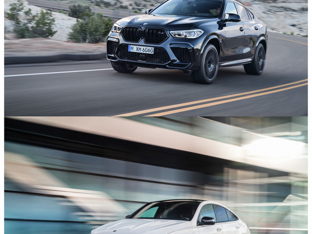 Photo Comparison: BMW X6 M vs Mercedes-AMG GLE63 Coupe