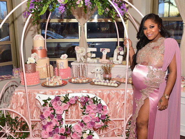 Toya Wright Gets Ready For Her Reignbeaux On The Way With Star-Studded Baby Shower [Photos]