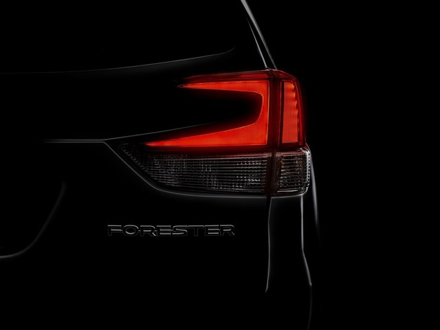 2019 Subaru Forester teased ahead of its New York debut