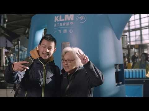 VIDEO | KLM bindt Chinese gasten aan zich