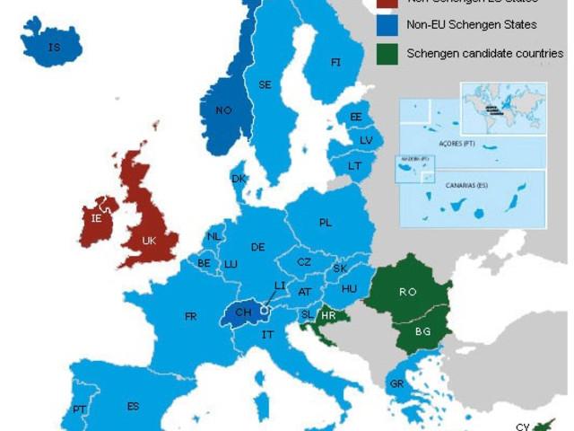 Toegang tot Schengen gaat 7 euro kosten
