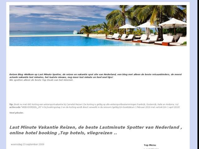 Tip, Huren van particuliere vakantiewoningen