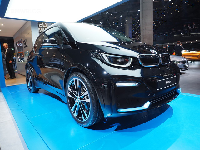 More photos of the BMW i3 Facelift and i3s