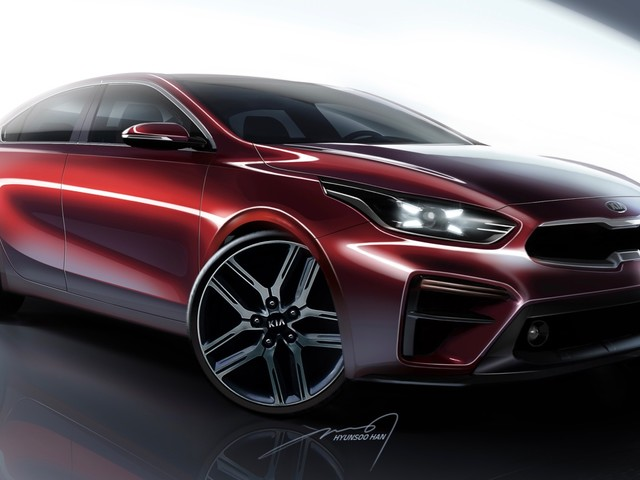 2019 Kia Forte teased ahead of its Detroit debut