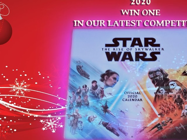 Gift Idea #1 - Star Wars The Rise Of Skywalker 2020 Calendar. You Could Win One In Our Fun Competition