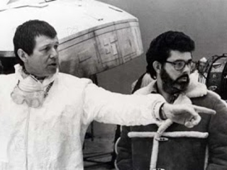 100 behind the scenes photos from the Star Wars movie