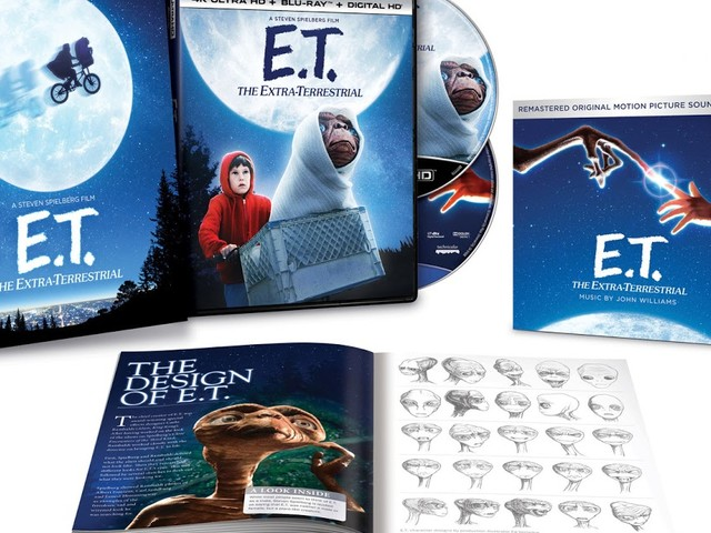 E.T.: The Extra-Terrestrial 35th Anniversary 4K Blu-ray Edition - Read The Press Release Here
