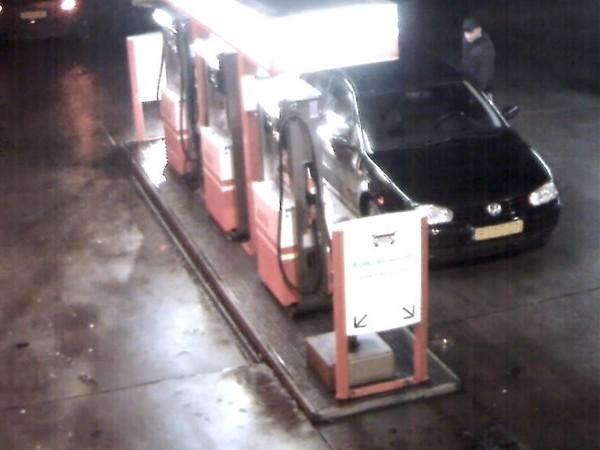 Tankstation Haarhuis in Westerhaar toont videobeelden brandstofdief