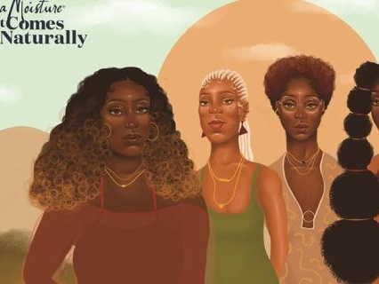 Black Girl Magic: Shea Moisture Unveils New Campaign Featuring Artistically Rendered Naturalistas