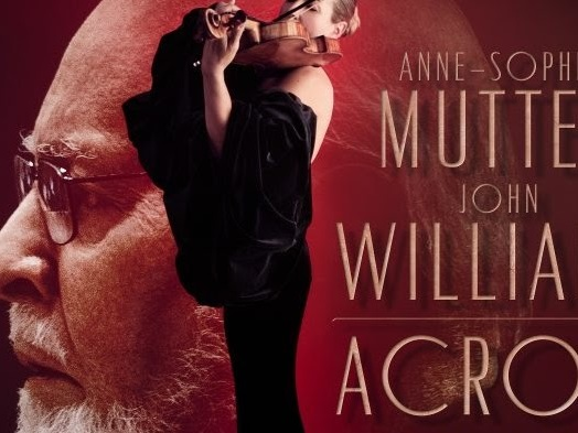 "Anne-Sophie Mutter And John Williams Announce New Album, ""Across the Stars."""