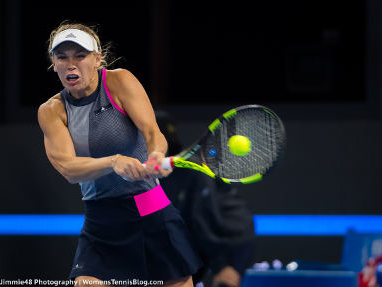 Wozniacki blitzes past Svitolina on Day 2 of the WTA Finals