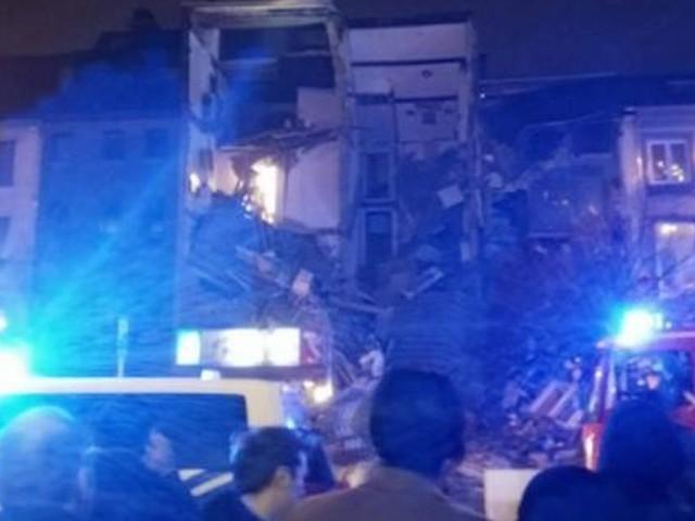 Eerste beelden explosie Antwerpen