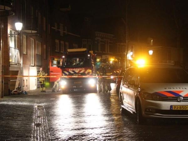 Garagebox vat vlam in Deventer