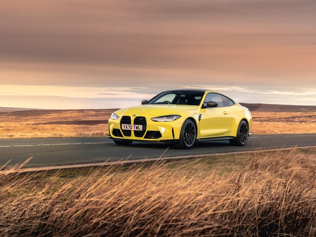 Video: CarWow tests the 0-60 time of the new M4 Competition