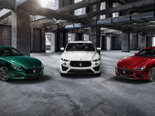 Maserati Ghibli Trofeo and Quattroporte Trofeo get a 580-hp V8