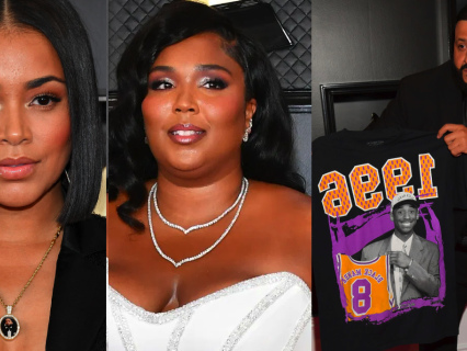 Spotted: Lauren London, Lizzo & DJ Khaled Attend The 2020 Grammys