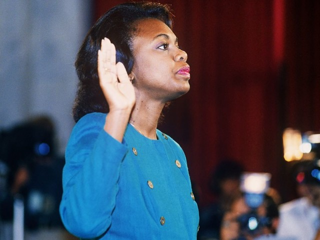 De beruchte hoorzitting met Anita Hill gaat donderdag op herhaling met Brett Kavanaugh