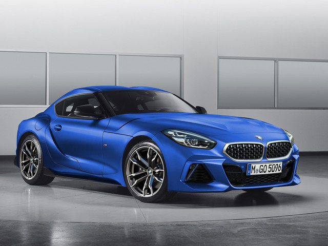 BMW Z4 Coupe render is a BMW-faced Supra