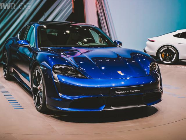 Porsche Taycan — Live Photos from the 2019 IAA