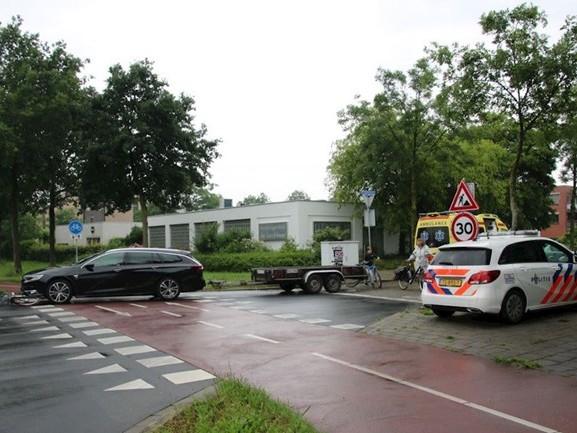 Fietser gewond bij aanrijding in Zwolle