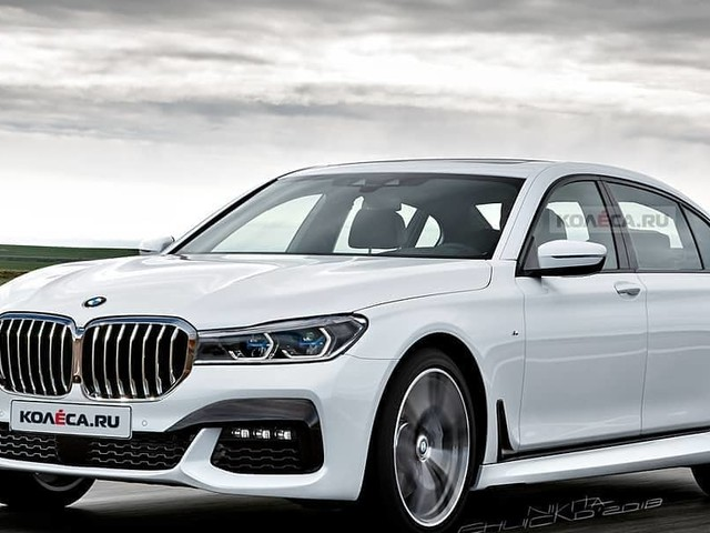 2020 BMW 7 Series Facelift – Photoshop