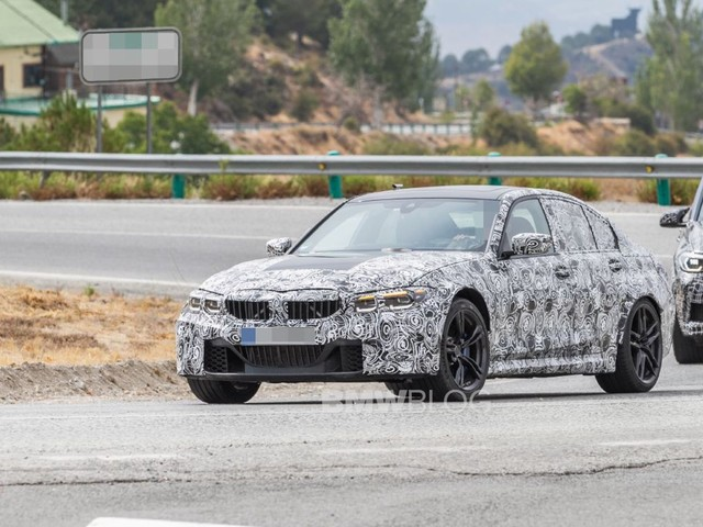 Video: Is this a manual BMW G80 M3 testing on the Nurburgring?