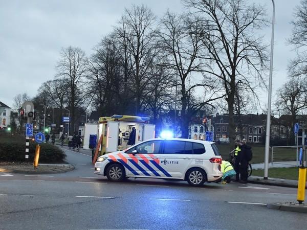 Fietser raakt gewond bij aanrijding met auto in Zwolle