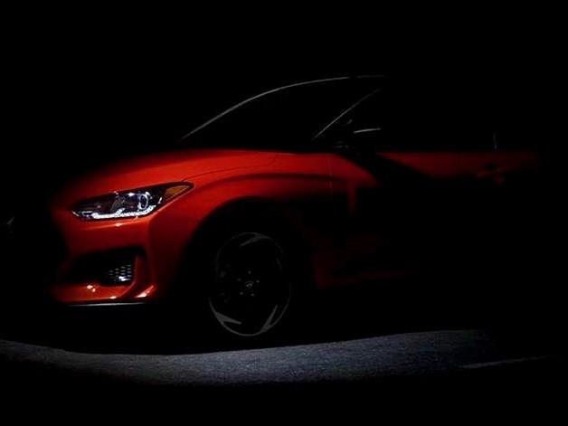 2019 Hyundai Veloster teased again