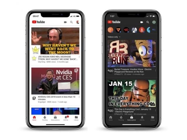 Zo activeer je YouTubes donkere modus op iPhone en iPad