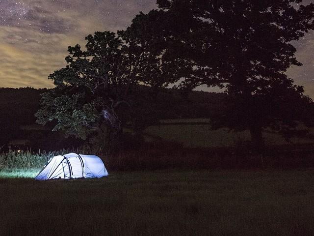 Kamperen in het wild mag ook (soms) in Engeland
