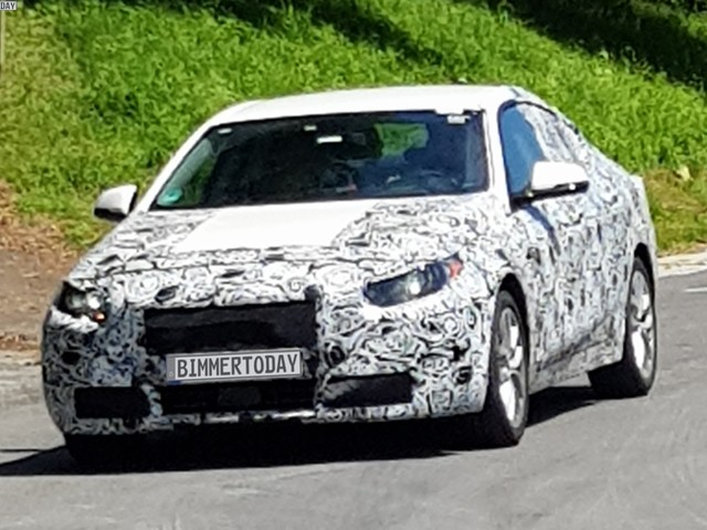 SPIED: 2020 BMW 2 Series Gran Coupe has fun sliding in snow