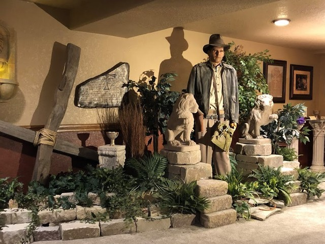 Fan Gives His Home Office An Impressive Indiana Jones Theme