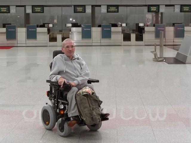 Vliegen met een rolstoel: gehandicapten op vakantie