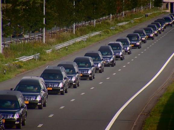 Leo de Koningh bestuurde een van de rouwauto's met slachtoffers van de MH17