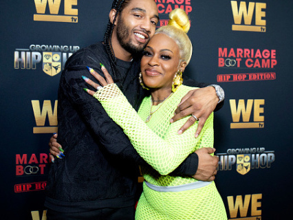Lil Mo Hints She's Finally Free From Her Continuously Creepin Hubby—Super Woman Separation On The Way?