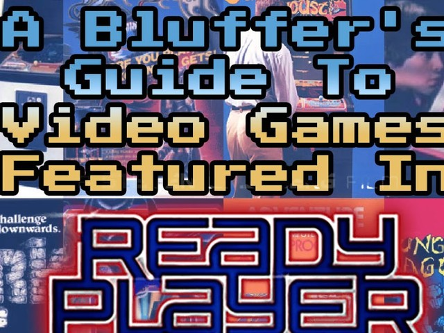 A Bluffer's Guide To Video Games Featured In Ready Player One