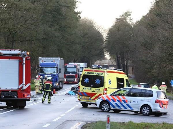 Vrouw (73) uit Nijverdal komt om het leven bij ongeval op N35 bij Haarle