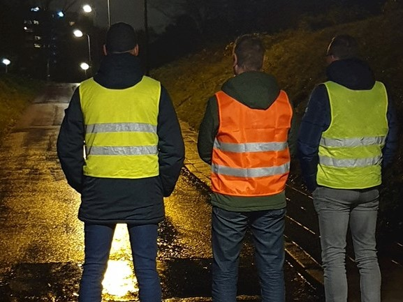 """Burgerwacht bij beruchte fietstunnels in Enschede: """"We willen veilig gevoel creëren"""""""