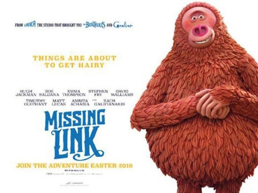 "Movie Review: Sasquatch Comedy ""Missing Link"" is Likeable, But Short on Big Laughs"