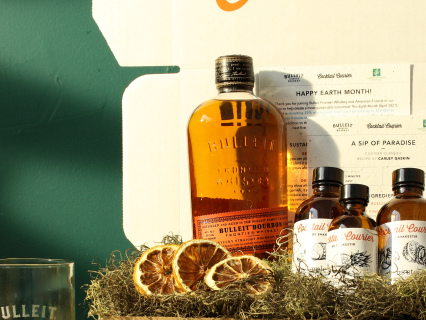 Drink Sustainably: Bulleit Frontier Whiskey Teams Up With Cocktail Courier & American Forests For Eco-Friendly Earth Day Cocktail Kit