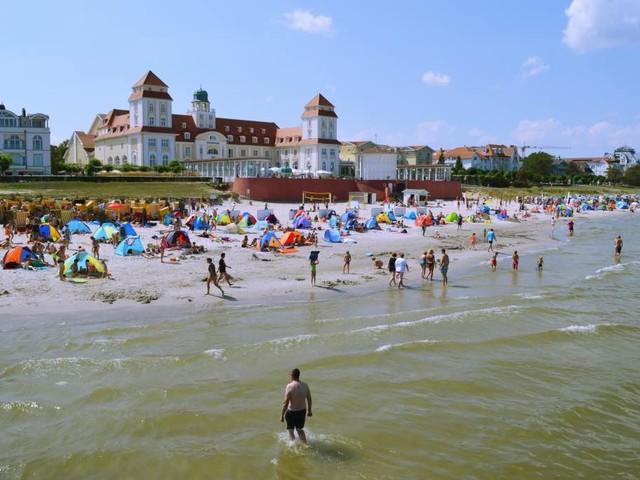 Nostalgische badplaatsarchitectuur op Rügen