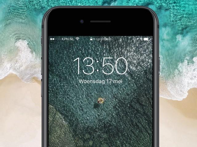 Apple brengt iOS 10.3.3 uit met onder andere nieuwe wallpapers