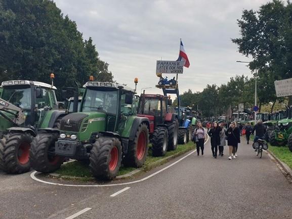 LTO betaalt parkeerboete die tijdens boerenprotest Zwolle uitgeschreven werd