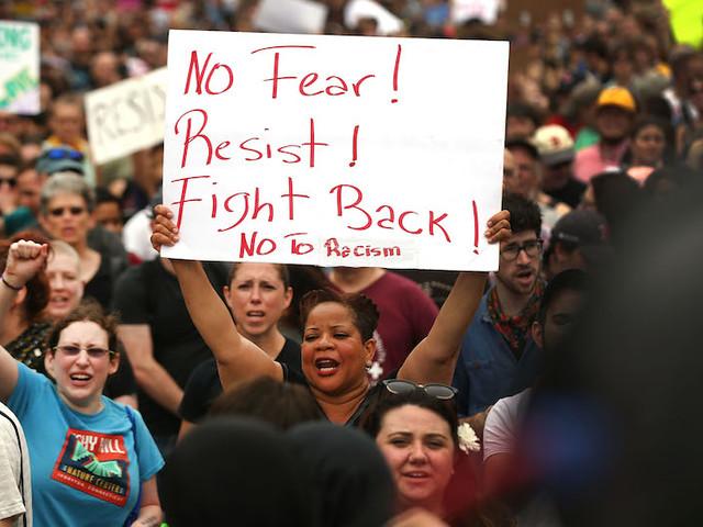 "Rebukin' Satan: Thousands Hit Boston To Fight Back Against Racist Azz ""Free Speech Rally"""