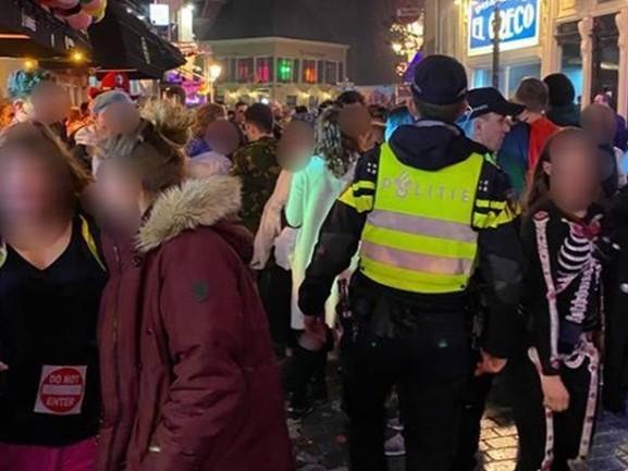Zestien aanhoudingen tijdens onrustige carnavalsnacht in Breda